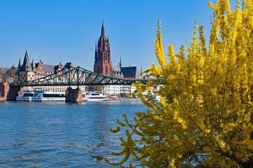 Know better the city of Frankfurt (Germany) by Virtual tour