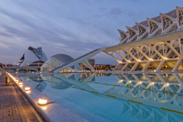 Know the city of Valencia by Virtual Tour