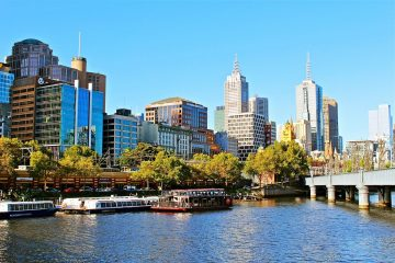 Know better the city of Melbourne (Australia) by Virtual tour