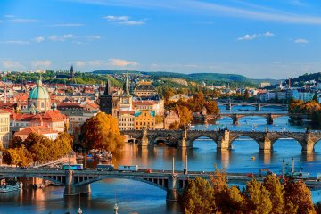 Prague: Non-stop round-trip flight from Cyprus for 20 Euros