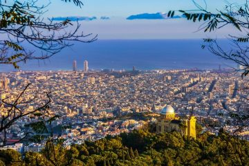 Barcelona:  Non-stop round-trip flight from Ireland for 20 Euros