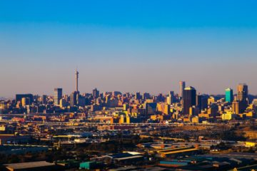 Know better the city of Johannesburg (South Africa) by Virtual tour