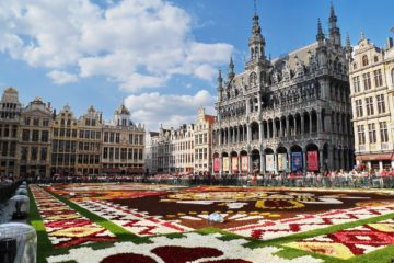 Brussels: Non-stop round-trip flight from Montenegro for 20 Euros