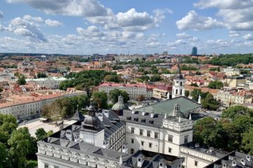 Vilnius: Non-stop round-trip flight from Denmark for 13 Euros