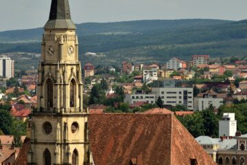 Know better the city of Cluj (Romania) by Virtual tour