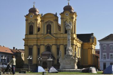 Know better the city of Timisoara (Romania) by Virtual tour