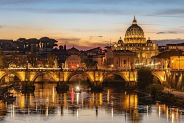 Rome: Non-stop round-trip flight from Austria for 16 Euros