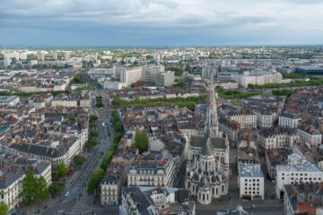 Nantes: Non-stop round-trip flight from Manchester for 22 Euros