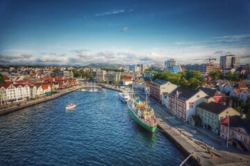 Know better the city of Stavanger (Norway) by Virtual tour