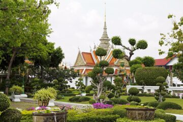 Know better the city of Bangkok (Thailand) by Virtual tour