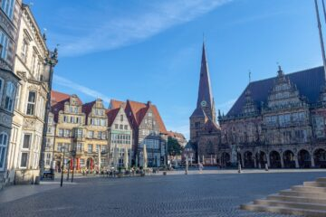 Know better the city of Bremen (Germany) by Virtual tour