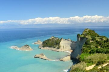 Know better the island of Corfu (Greece) by Virtual tour