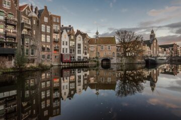 Know better the city of Rotterdam Netherlands) by Virtual tour