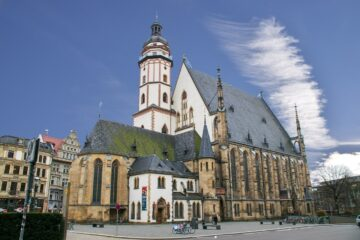 Know better the city of Leipzig (Germany) by Virtual tour