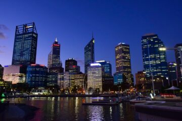 Know better the city of Perth (Australia) by Virtual tour