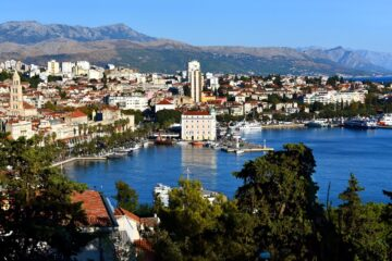 Know better the city of Split (Croatia) by Virtual tour
