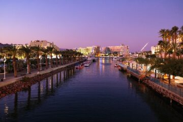 Know better the city of Eilat (Israel) by Virtual tour