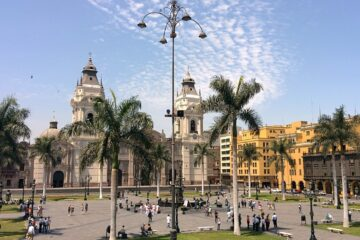 Know better the city of Lima (Peru) by Virtual tour