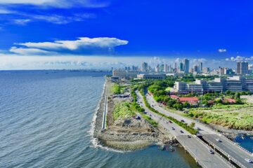 Know better the city of Manila (Philippines) by Virtual tour