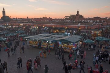 Know better the city of Marrakech (Morocco) by Virtual tour