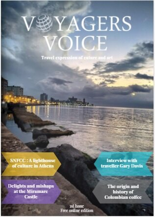 Voyagers Voice Magazine Cover 1st issue